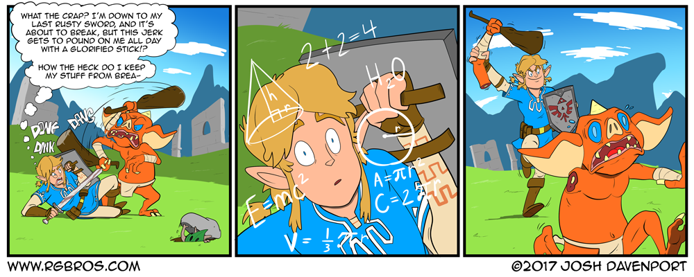 Link has an epiphany. by Josh Davenport