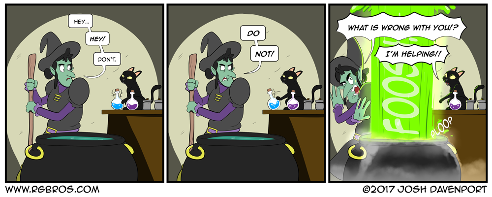 Witches cat, doing what a cat do, knocking stuff off counters. by Josh Davenport