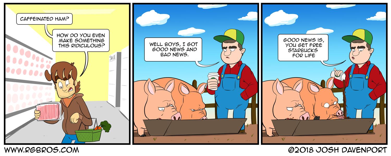 Shaken Bacon