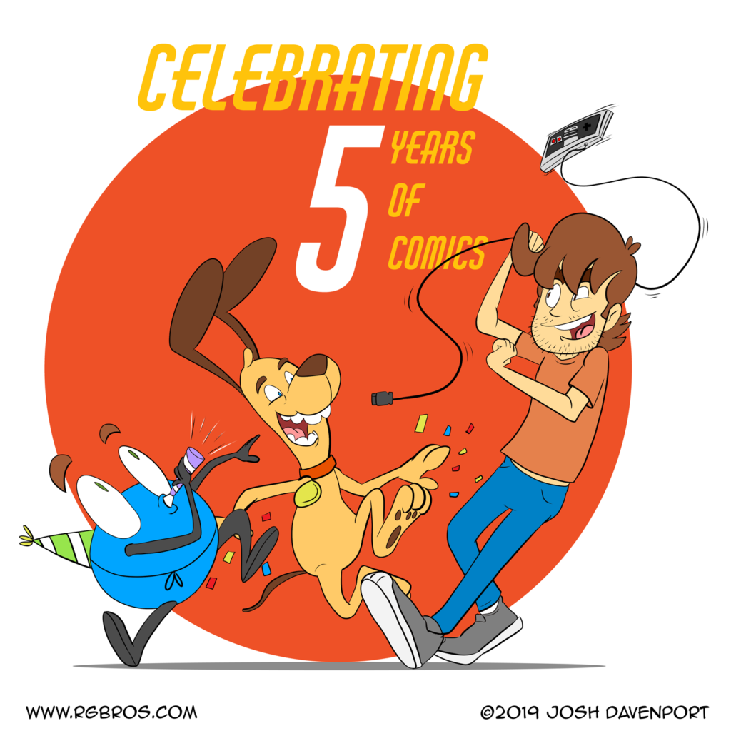 RGBros is five years old! by Josh Davenport